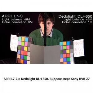 Arri L7-C Dedolight DLH650 Sony HVR-Z7